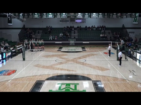 Frontier Conference Volleyball Tournament #3 Montana Tech vs. #6 Montana Western