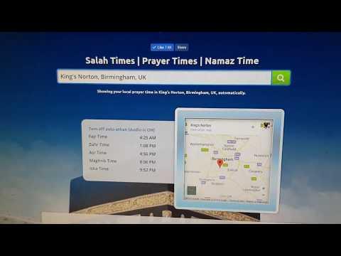 Prayer Times - Salah Times - Namaz Time | Salahtimes