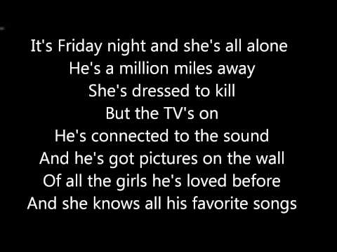 American Hi-Fi-Flavor of the Weak Lyrics