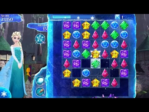 Frozen Free Fall Android Gameplay #4