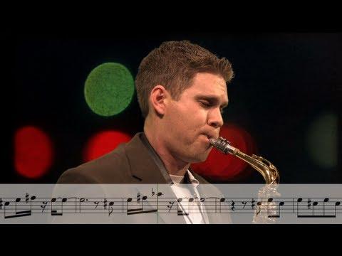 City Lights - Alto Saxophone - BriansThing Original