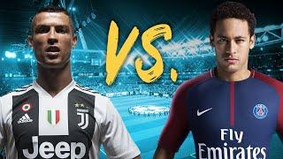 FIFA 19 Demo - Ronaldo's Juventus vs. Neymar's Paris St. Germain Gameplay