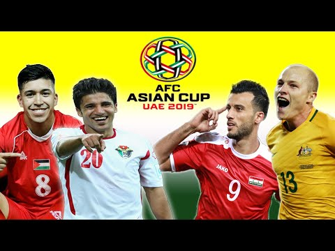 2019 AFC Asian Cup Best Players of Group B: Australia, Syria, Palestine, Jordan