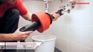 видео прочистная машина для канализации