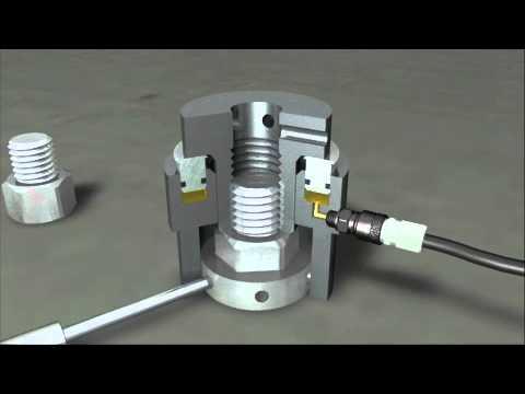 Broken Bolt Removal >> SKF Hydraulic Bolt Tensioner HTA.wmv - YouTube