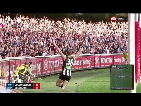 AFL 2014 Round 5 Anzac Day Collingwood Vs Essendon