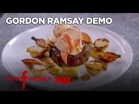 Gordon Ramsay Demonstrates How To Cook Surf And Turf | Season 1 Ep. 11 | THE F WORD