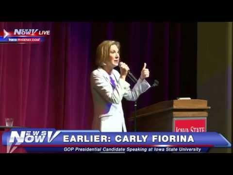 FNN: Campaign 2016, Carly Fiorina Speech in Iowa, plus local & national headlines