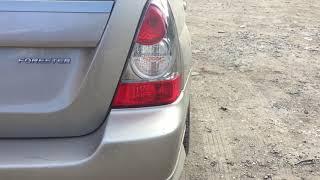 Распил Subaru Forester SG-5