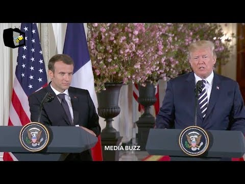 Trump and President of France Hold Joint Press Conference 4/24/18