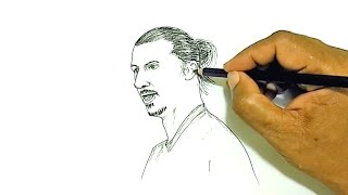 How to Draw Zlatan Ibrahimović