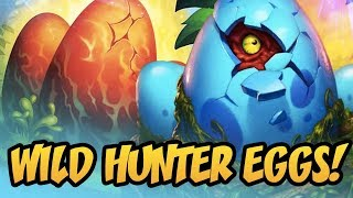 Wild Hunter Eggs! | Rastakhan's Rumble | Hearthstone