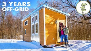 3 Years Living Fully Off-The-Grid in a Tiny House