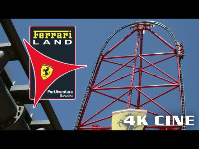 Cinematic Ferrari Land - PortAventura World June 2018