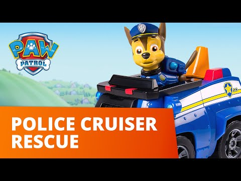 PAW Patrol | Ultimate Police Cruiser Rescue! | Toy Episode