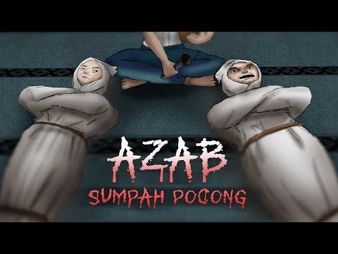 Azab Sumpah Pocong  | Kartun Hantu & Animasi Horor #HORORMISTERI
