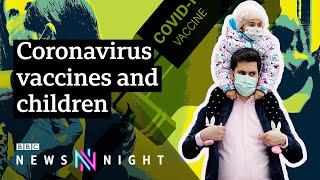 Coronavirus: Should we be vaccinating children? - BBC Newsnight