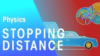 Stopping Distance | Forces & Motion | Physics | FuseSchool