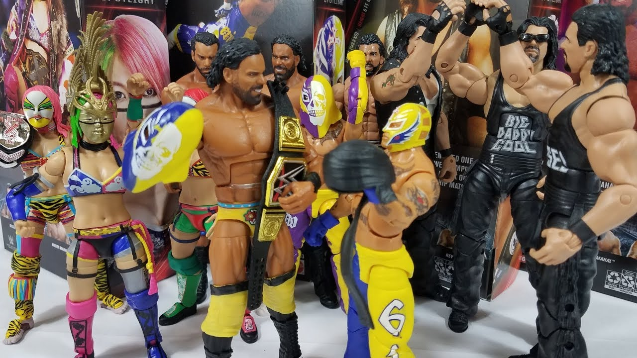 WWE Wrestling Elite Network Spotlight Rey Mysterio Action Figure