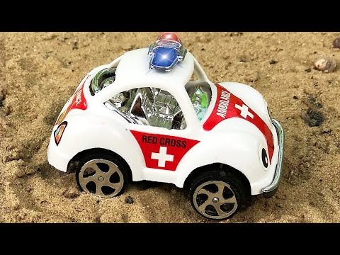 Ambulance, Tow Truck | Emergency Vehicles Cartoon | Cars & Trucks For Kids