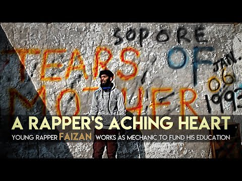 A RAPPER'S ACHING HEART