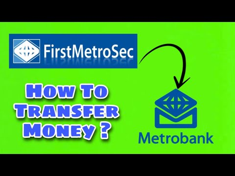 How To Withdraw Money From Firstmetrosec
