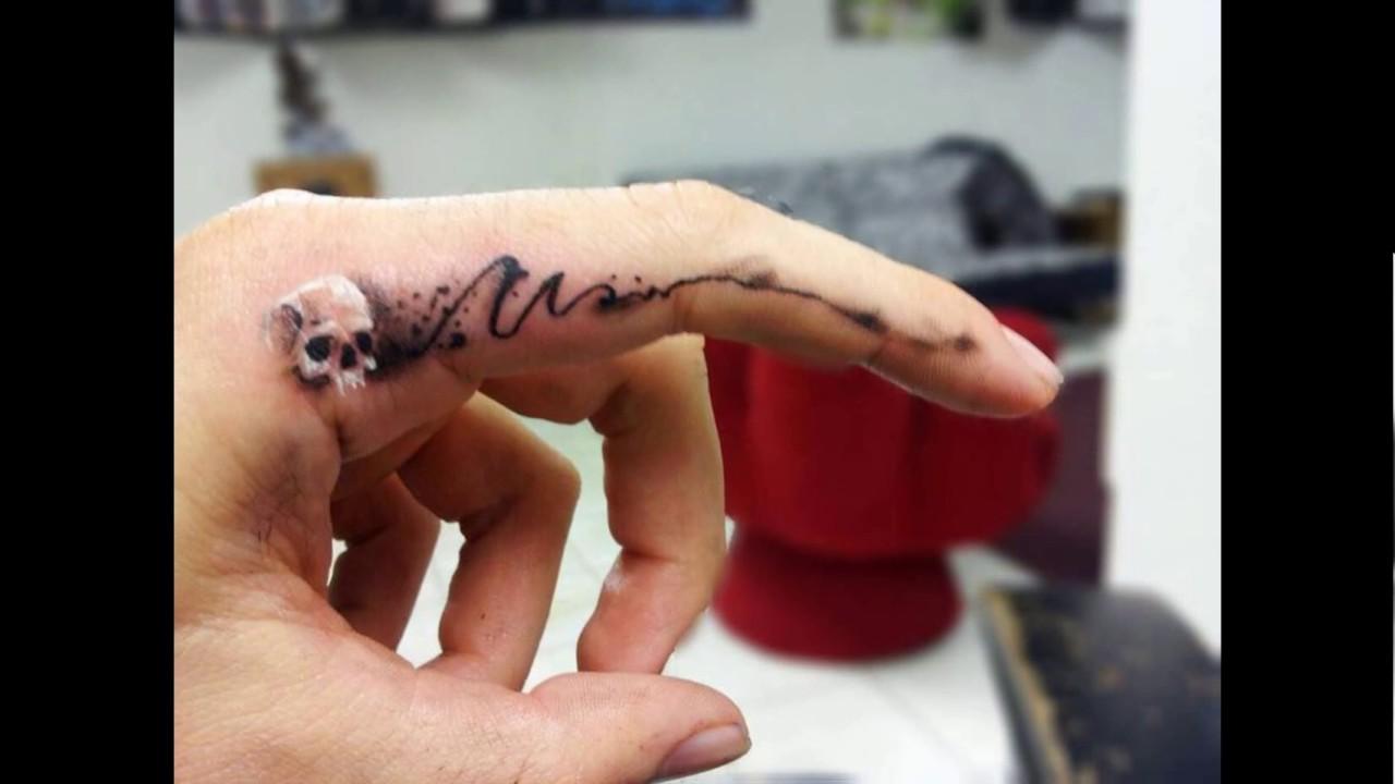 20 Tatuajes En El Dedo Los Mejores Diseños Youtube