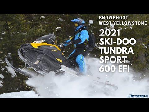 Capsules Motoneiges.ca - Ski-Doo Tundra Sport 600 EFI 2021