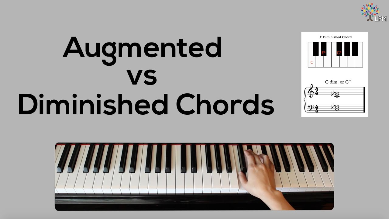Augmented vs diminished chords youtube augmented vs diminished chords hexwebz Gallery