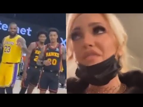 Courtside Karen THROWN OUT, screaming at LeBron James, she explains what happened