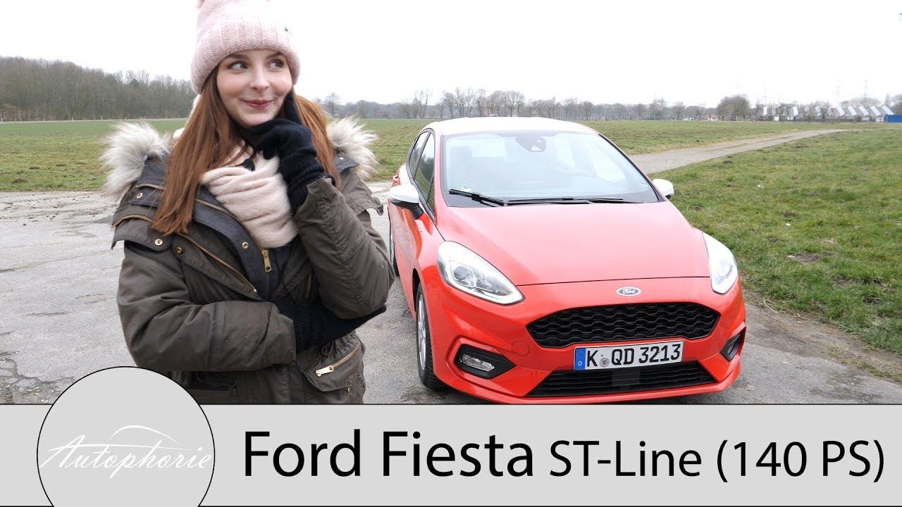 2018 Ford Fiesta St Line 10 Ecoboost 140 Ps Fahrbericht Klein
