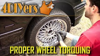 DIY: How to Properly Torque a Wheel
