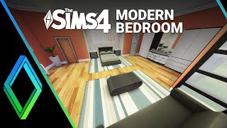 Sims 4 Room Build - Modern Bedroom