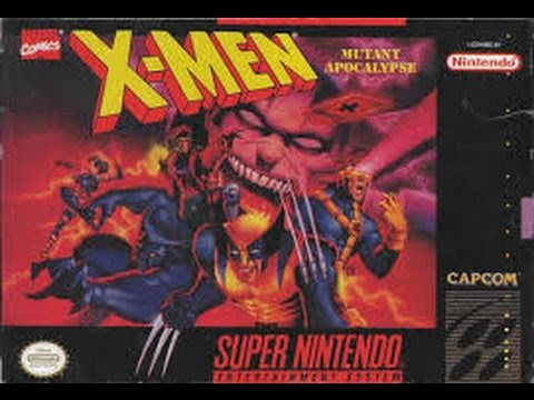 X-Men: Mutant Apocalypse (Super Nintendo)