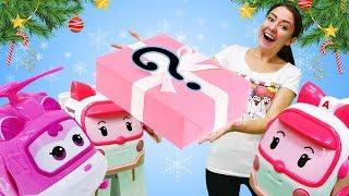 Веселая школа Капуки Кануки. Робокар игрушки пекут новогоднее печенье.