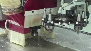 Aluminum Demo on a Stratos PRO CNC Router
