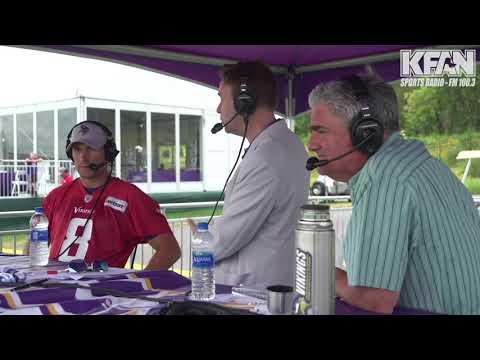 Allen's Page - WATCH: Vikings QB Kirk Cousins joins PA on the Perch | KFAN 100.3 FM