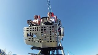 Blue Fire Roller Coaster With SPINNING Car! Mack Rides Test!  Europa Park