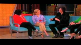 Howard Stern on the view, Howard stern on the view 2012