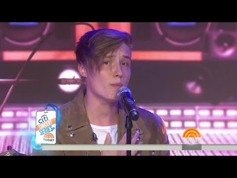 """Isac Elliot performs """"What About Me"""" Live from TODAY SHOW"""