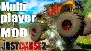 Just Cause 2 - Multiplayer [MOD] Gameplay