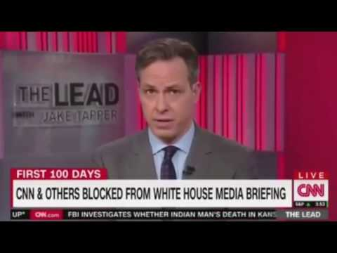 NY Times, LA Times, Politico and CNN blocked from a White House Media gaggle