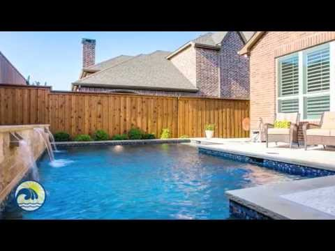 Plano Pool Builder, Riverbend Sandler Pools