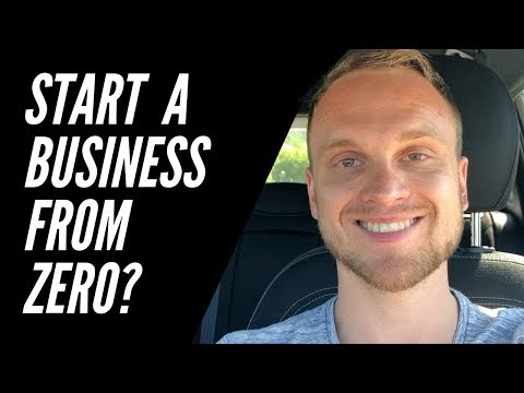 Can I start a business from zero being unemployed?