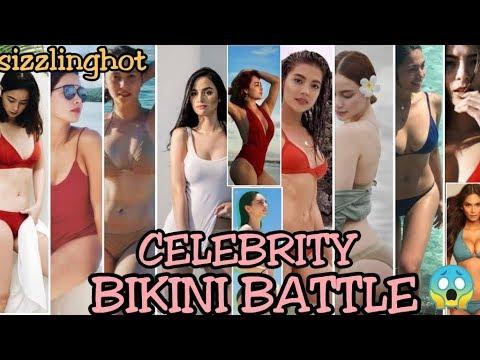 Hottest Celebrities | Bikini Battle