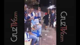 De La Cruz Starts the WAVE! Dodger Stadium  Dodgers vs Rockies Sandy Koufax Bobblehead Night