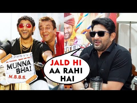 Sanjay Dutt-Arshad Warsi To Return In Munna Bhai 3 | Exclusive Interview Mp3
