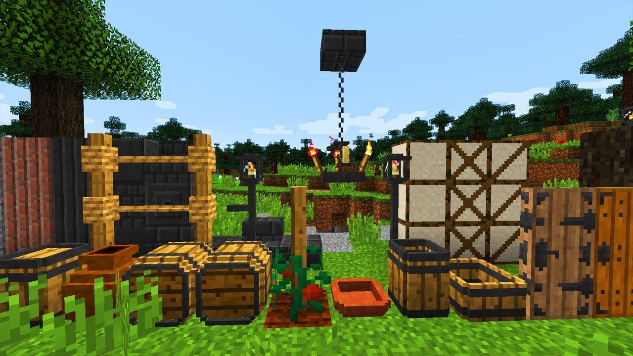 Minecraft Mods: Medieval Rustic Mod