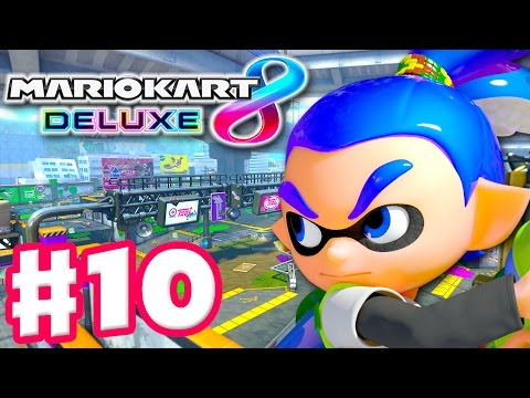 Inkling Boy! Lightning Cup! Online Battle! - Mario Kart 8 Deluxe - Gameplay Walkthrough Part 10