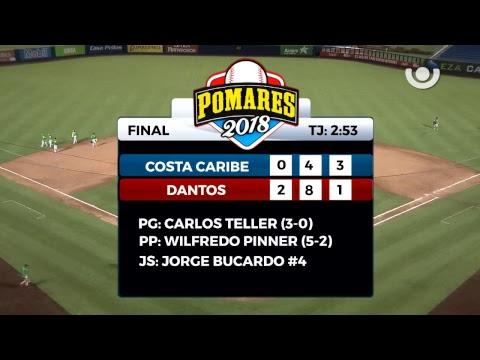 Dantos de Managua vs. Costa Caribe - [Partido Completo] - [11/05/18]